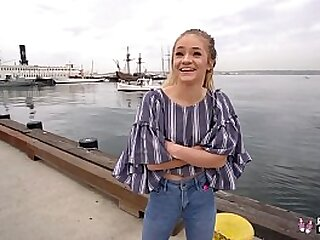 Real Teens - Petite Teen Banged During First Porn Casting