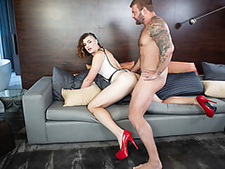 Tranny Allysa Etain gets her tight ass rammed by stud Colby Jansen