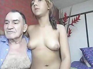 Grandfather fucks his young friend