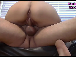 Most Excellent nonprofessional creampies part three