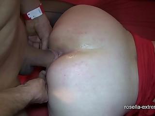 Extreme bareback cum gang bang with Marina and Rosella! Part 3