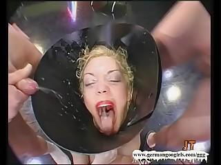 Extreme Cum Slut Annette Schwarz