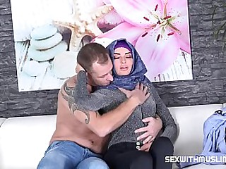 It starts like an ordinary fuck, but then Czech muslim babe Victoria discovers that this guy can be rough and knows how to lick her pussy and give her endless pleasure.