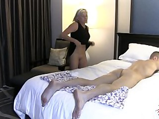 Hot Sexy MILFs love banging their sons hard cocks  Sally D'angelo
